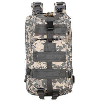 FK9251 30L 3P Outdoor Marching Knapsack Tactical 9 in. ACU Camouflage Backpack