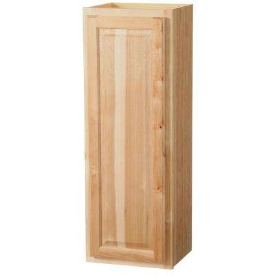 Hampton Assembled 15x42x12 in. Wall Kitchen Cabinet in Natural Hickory