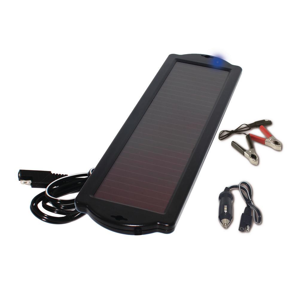 1.5-Watt Amorphous Solar Powered 12-Volt Battery Maintainer
