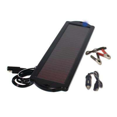 1.5-Watt Amorphous Solar Powered 12-Volt Battery Maintainer