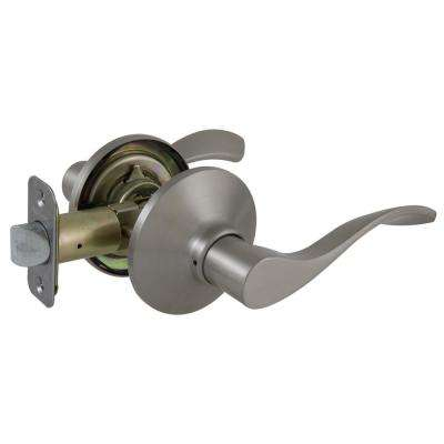 Zacoti Satin Nickel Passage Door Lever