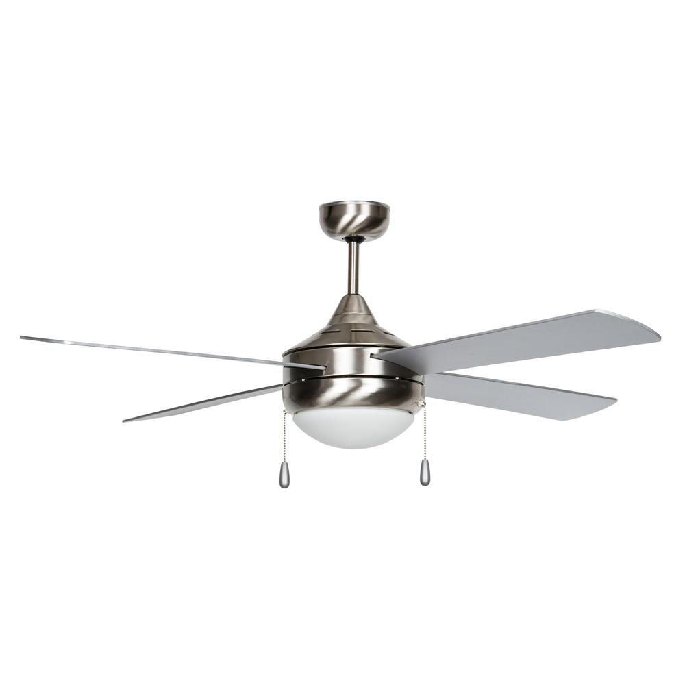 Concord Fans Centurian Series 52 In Indoor Stainless Steel Ceiling Fan
