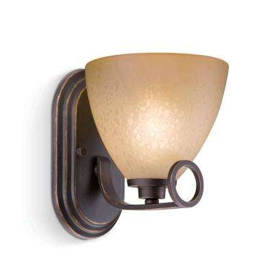 Maurice 1-Light Oiled Bronze Sconce