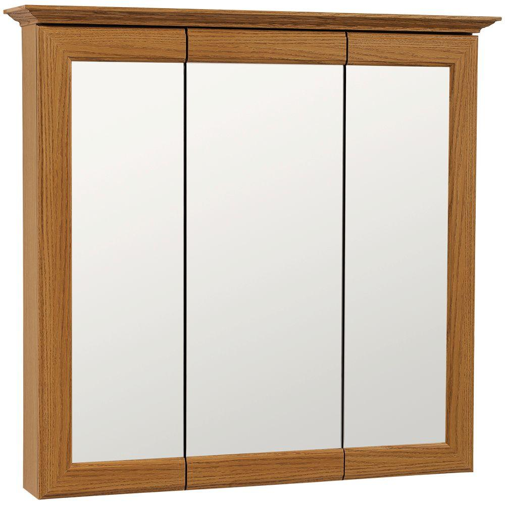 American Classics 31 in. W x 29-1/2 in. H Framed Surface-Mount ...