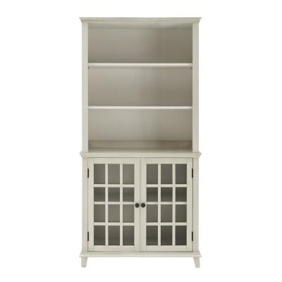 Farber Antique White Display Cabinet
