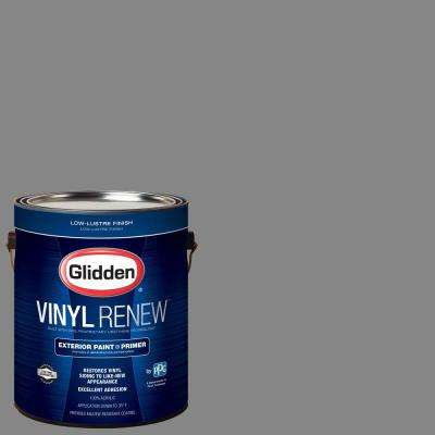 1 gal. #HDGCN64U Seal Grey Low-Lustre Exterior Paint with Primer