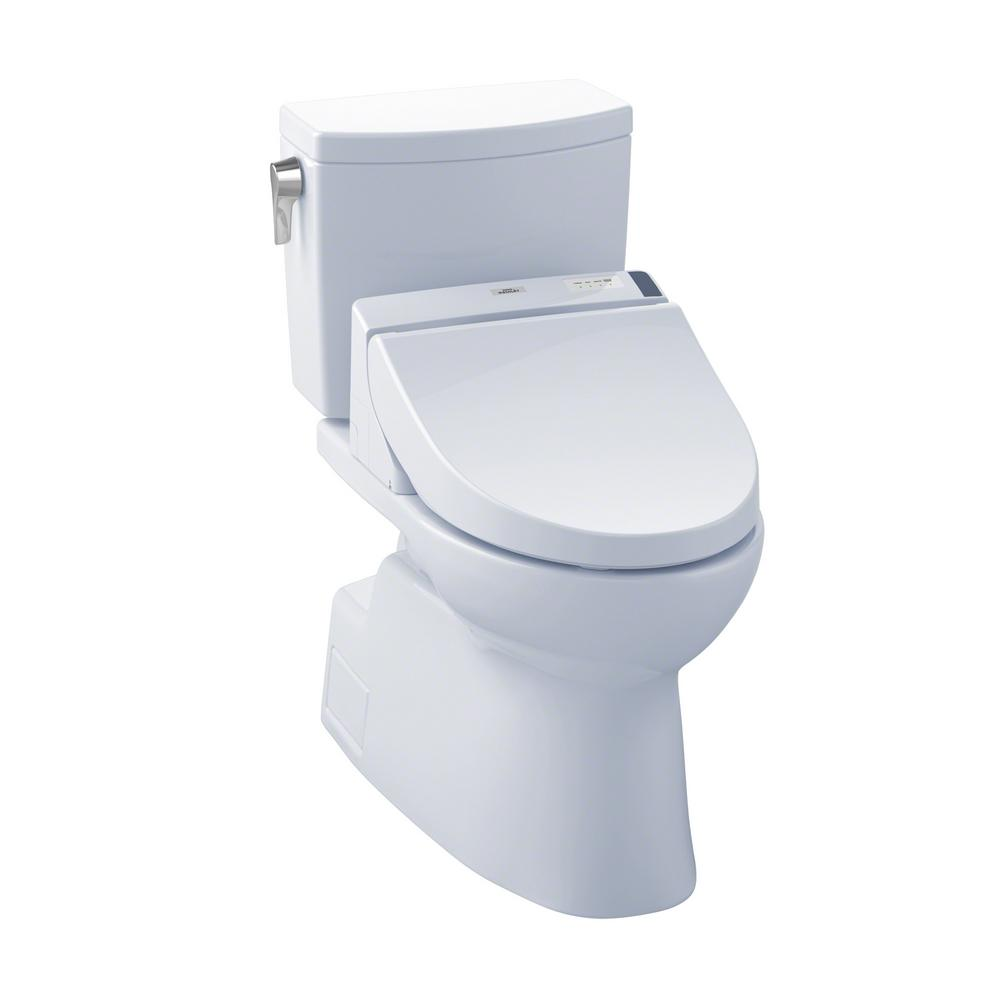 toto vespin ii connect 2 piece 1 0 gpf elongated toilet with washlet c200 bidet seat and. Black Bedroom Furniture Sets. Home Design Ideas