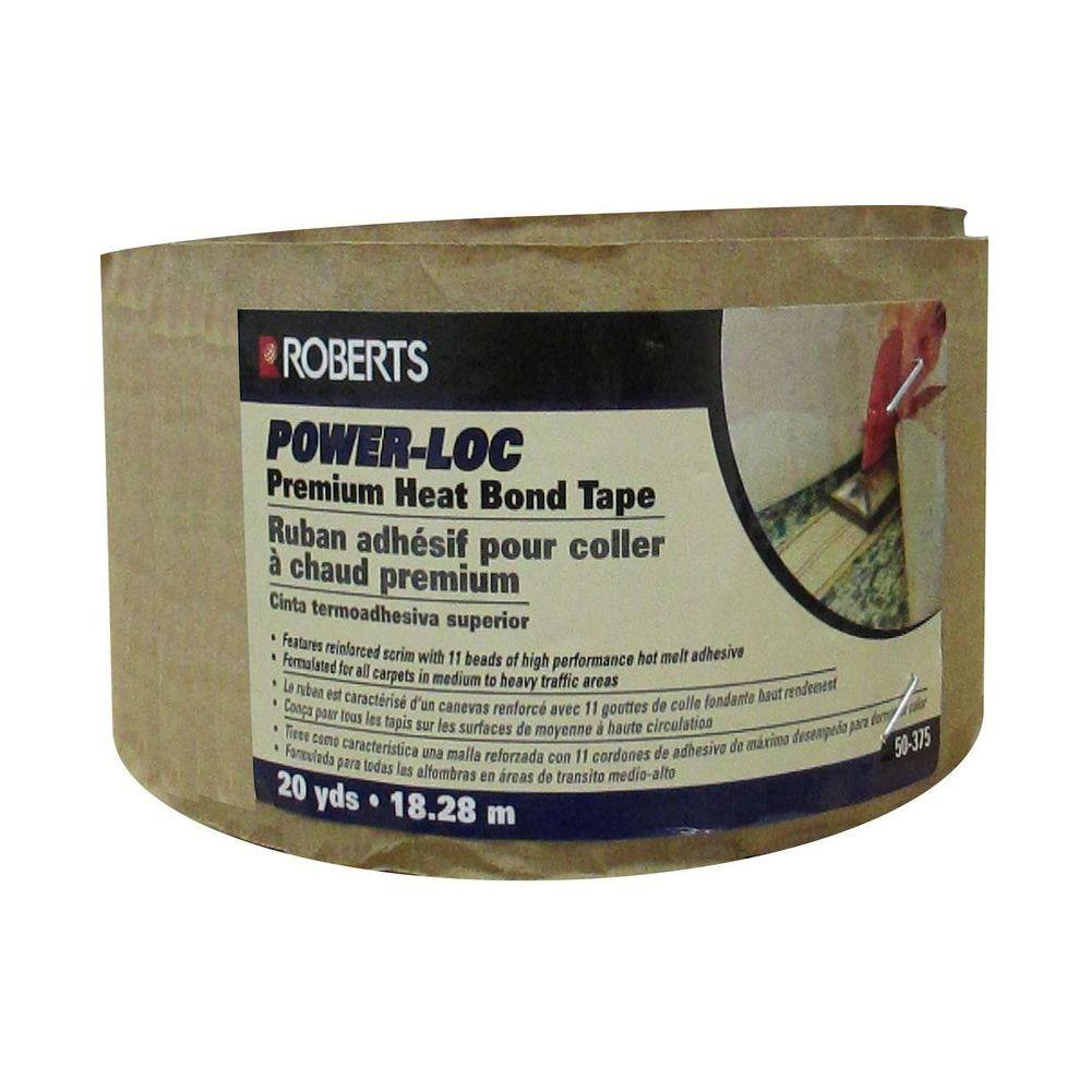 Roberts Power-Loc 60 ft. Premium Heat Bond Carpet Seaming Tape Roll