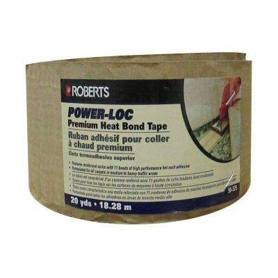 Power-Loc 60 ft. Premium Heat Bond Carpet Seaming Tape Roll