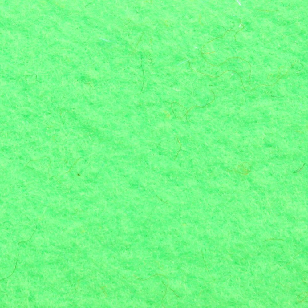 ALMA Fluo Green 6 ft. 6 in. x Your Choice Length Indoor/Outdoor Carpet/Roll Runner