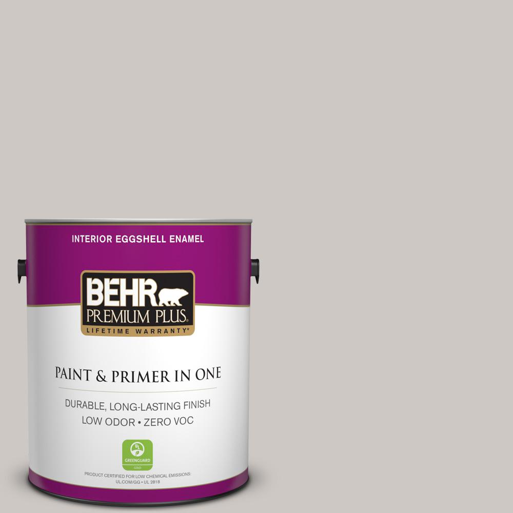 BEHR Premium Plus Home Decorators Collection 1-gal. #HDC-WR14-2 Winter Haze Eggshell Enamel Interior Paint