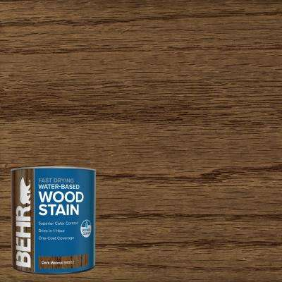 1 qt. #TIS-502 Dark Walnut Transparent Water-Based Fast Drying Interior Wood Stain