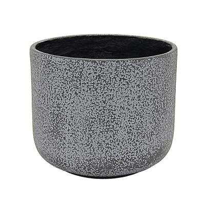 10.5 in. x 10.5 in. Planter-Small in Gray