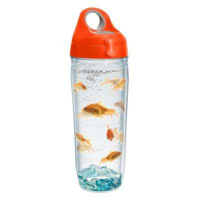 Goldfish 24 oz. Double Walled Insulated Water Bottle