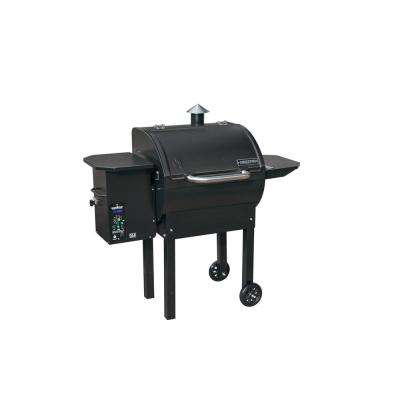SmokePro DLX Pellet Grill in Black