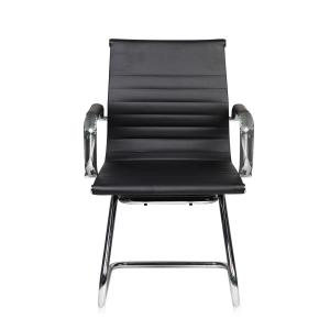 Black Modern Visitor Office Chair