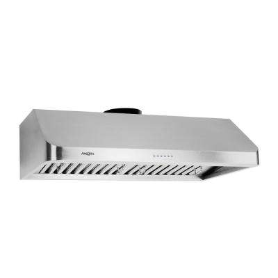 UCA636 36 in. Under Cabinet Range Hood with LED in Stainless Steel