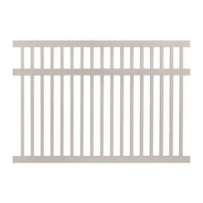 Neptune 5 ft. H x 8 ft. W Tan Vinyl Pool Fence Panel