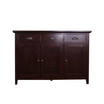 Lindendale Espresso Sideboard/Buffet Table