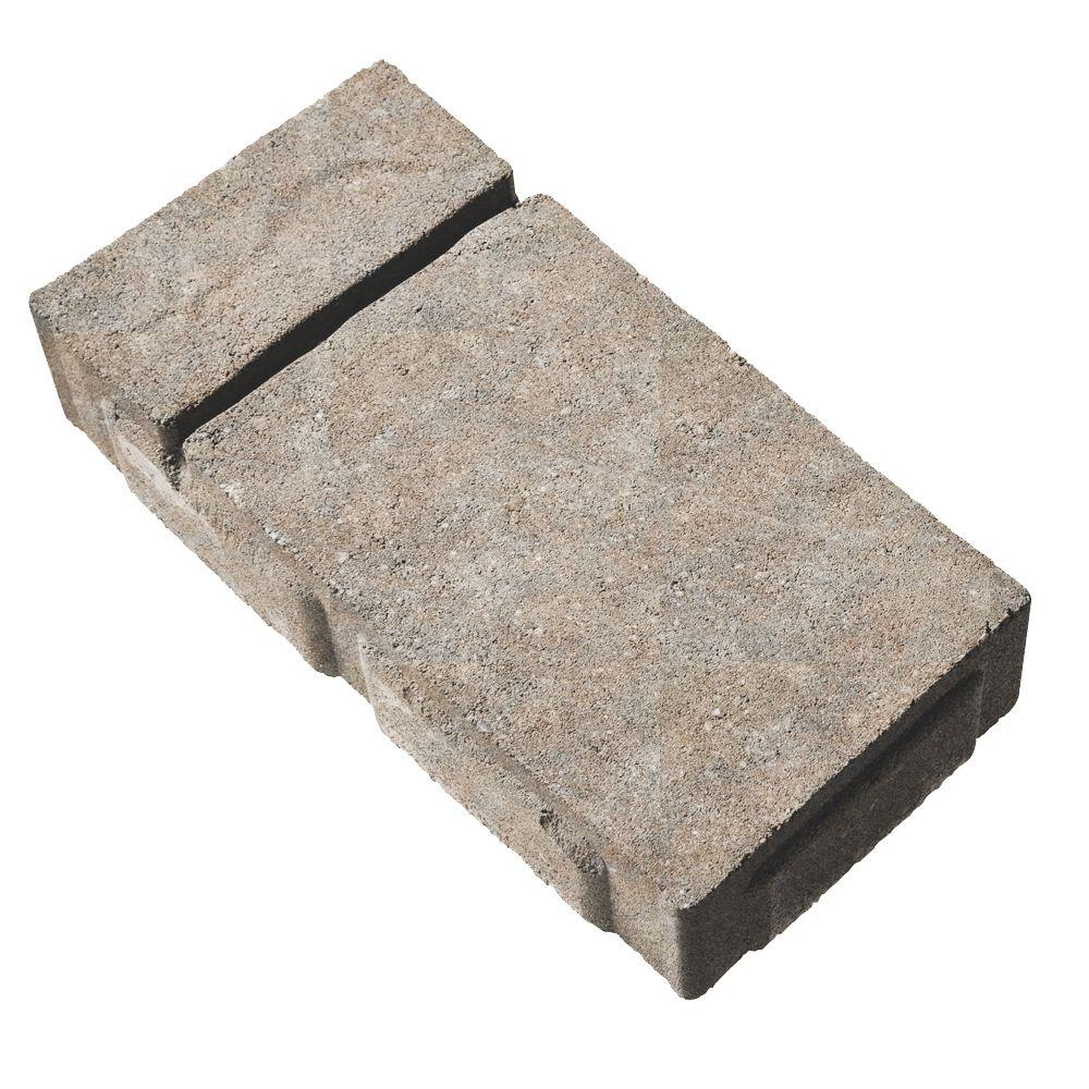 Valestone Hardscapes Domino 6 in. x 12 in. Country Blend Brown/Gray Concrete Paver (240 Pieces / 120 sq. ft. / Pallet)