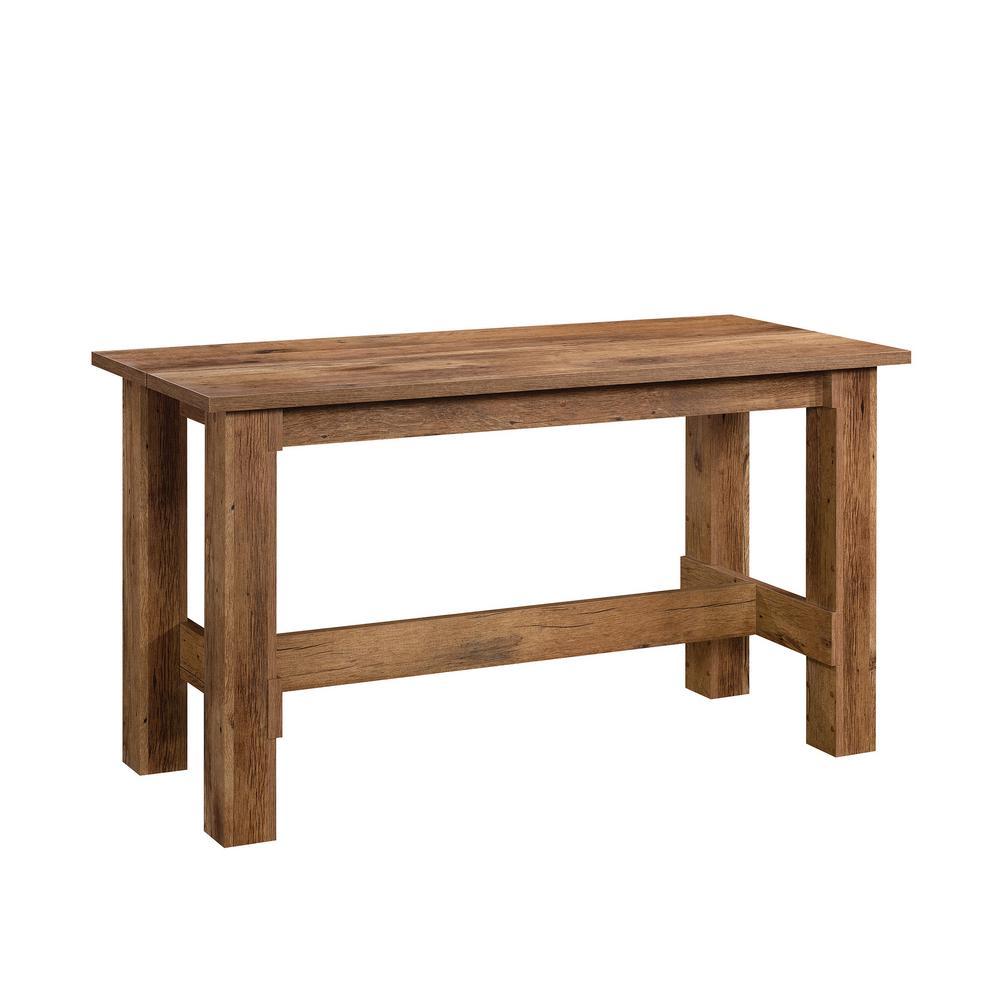 Boone Mountain Vintage Oak Engineered Wood Dining Table