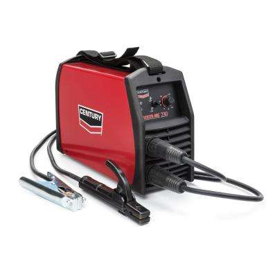 155 Amp Inverter Arc 230 Stick Welder, Single Phase, 220V