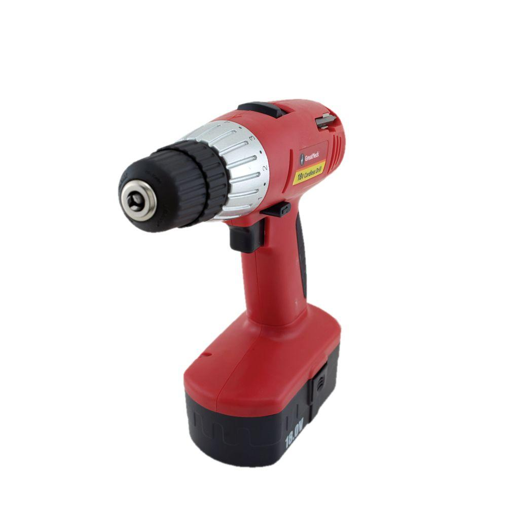 Great Neck Saw 18-Volt 2-Speed Cordless Drill