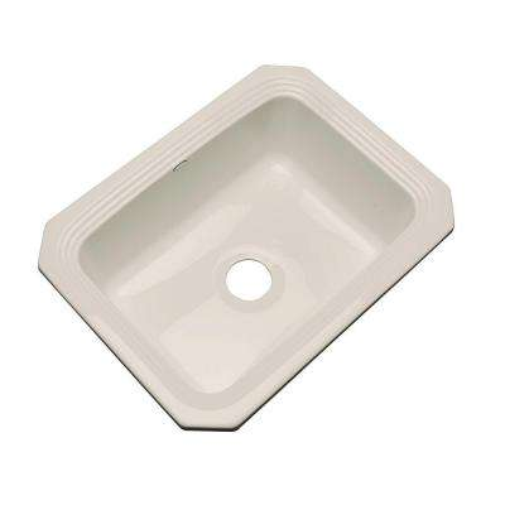 Rochester Undermount Acrylic 25 in. Single Bowl Kitchen Sink in Desert Bloom