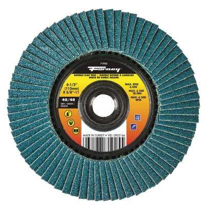 40/40 Grits Double-Sided Flap Disc