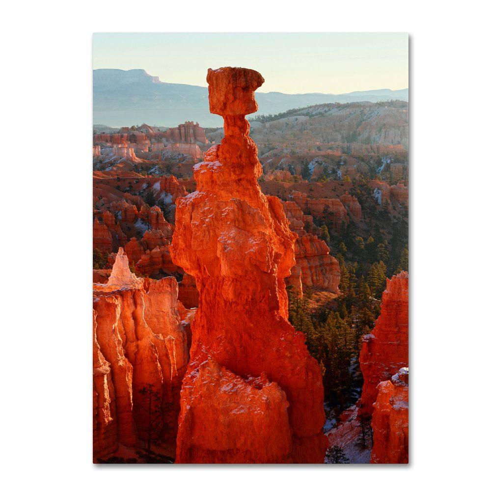 22 in. x 32 in. Bryce Canyon Thors Hammer Canvas Art