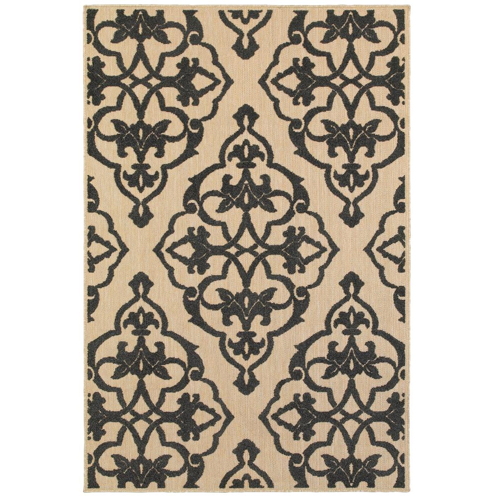 Home Decorators Collection Selene Black 5 Ft 3 In X 7 Ft