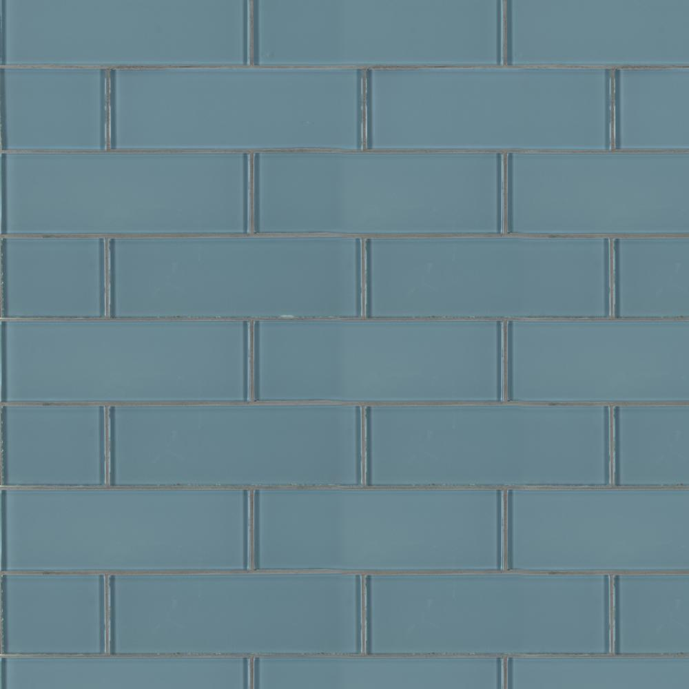 Msi Harbor Gray 3 In X 9 8mm Gl Wall Tile 8 Sq Ft