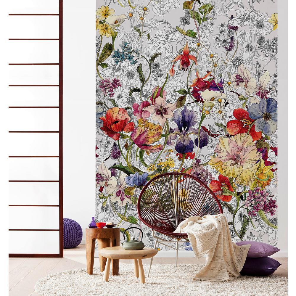 Flora Flowers Wall Mural