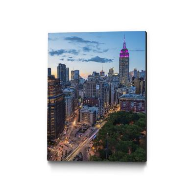 "30 in. x 40 in. ""Manhattan Skyline at Twilight"" by Franklin J. Kearney Wall Art"