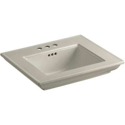 Memoirs Stately 24.5 in. x  4 in. Centerset Console Sink Basin in Sandbar
