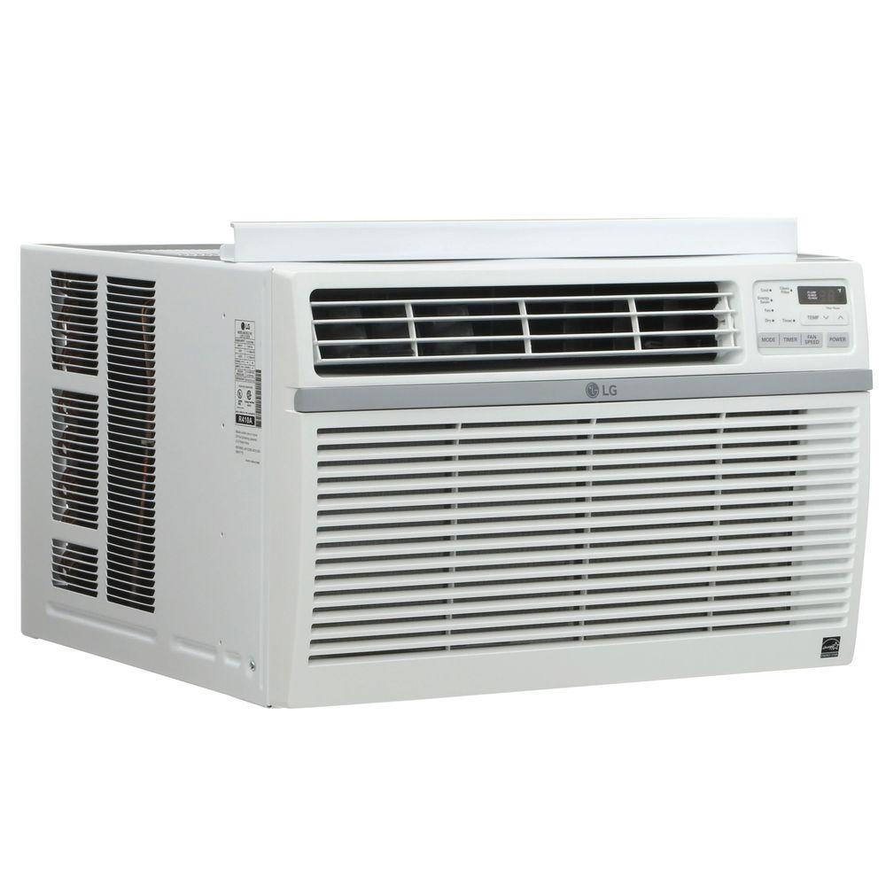 LG Electronics 8,000 BTU 115-Volt Window Air Conditioner with ...