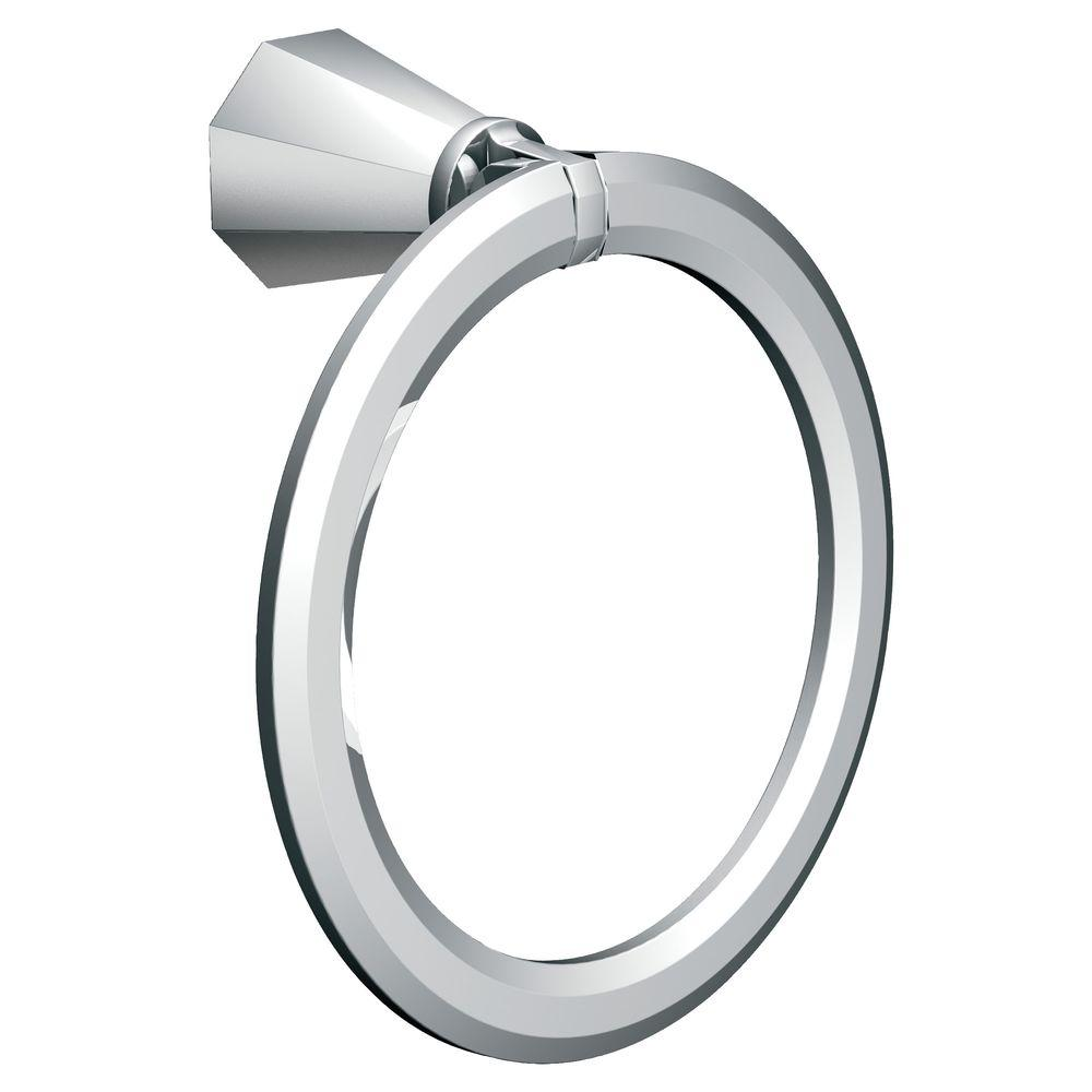 MOEN Felicity Towel Ring in Chrome