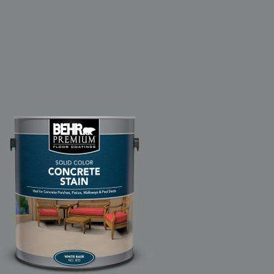 1 gal. #PFC-63 Slate Gray Solid Color Flat Interior/Exterior Concrete Stain