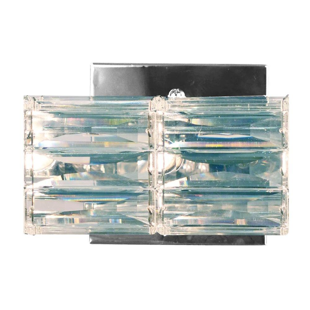 Sky 1-Light Chrome Sconce Light