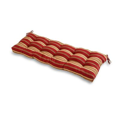 Roma Stripe Rectangle Outdoor Bench Cushion