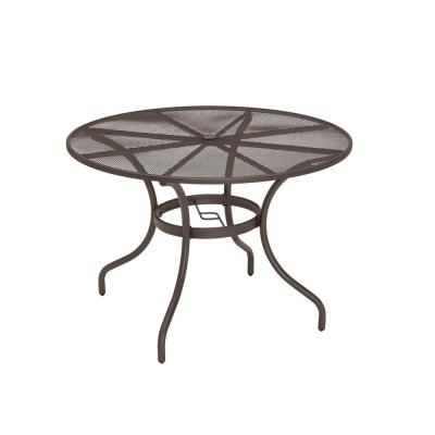 Round Patio Dining Tables Patio Tables The Home Depot