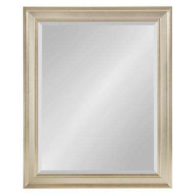 Corrigan Rectangle Silver Wall Mirror