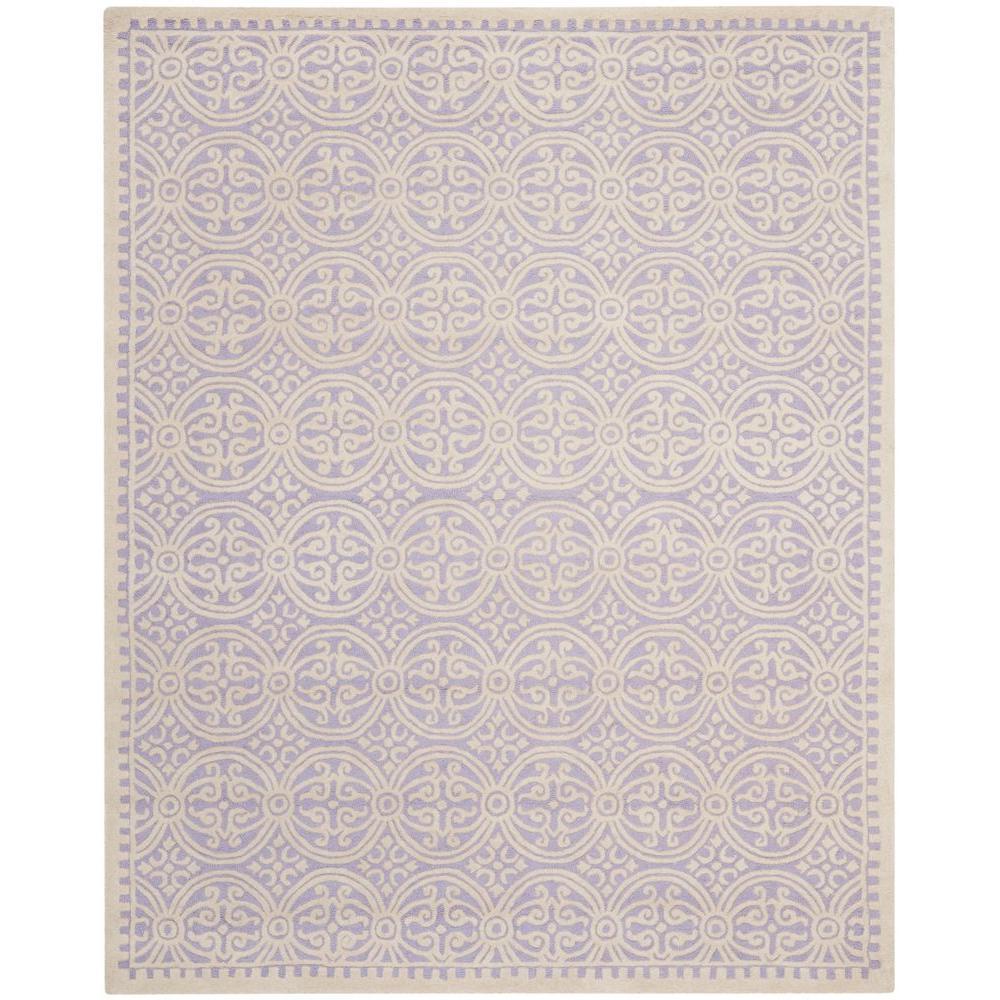 Safavieh Cambridge Lavender/Ivory 9 ft. x 12 ft. Area Rug