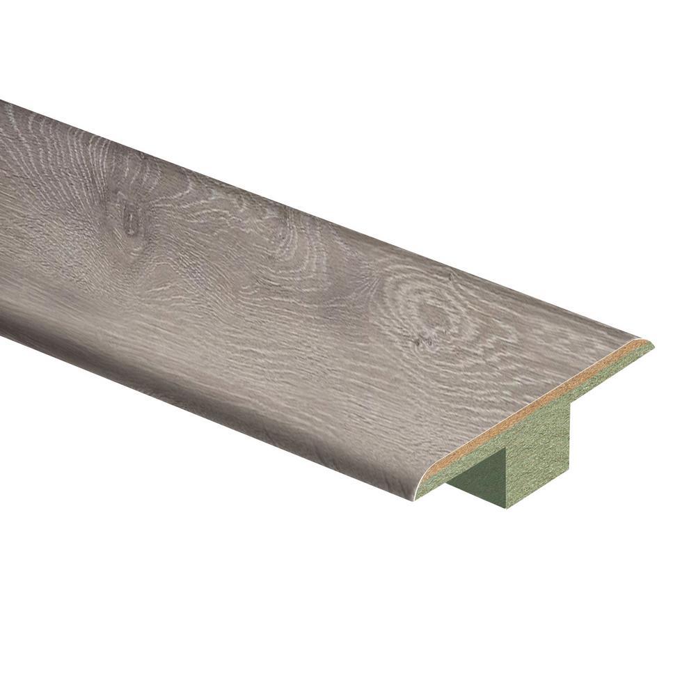 Terrado Oak 7/16 in. Thick x 1-3/4 in. Wide x 72 in. Length Laminate T-Molding