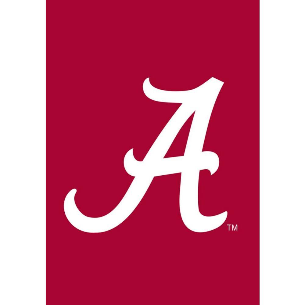 NCAA 12-1/2 in. x 18 in. Alabama 2-Sided Garden Flag