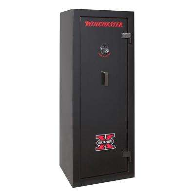 Ammo Safe 13.8 cu. ft. 45-Minute Fire Rated Mechanical Lock, Black
