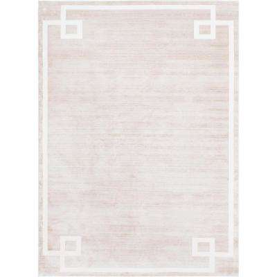 Uptown Collection by Jill Zarin Beige 9 ft. x 12 ft. Area Rug
