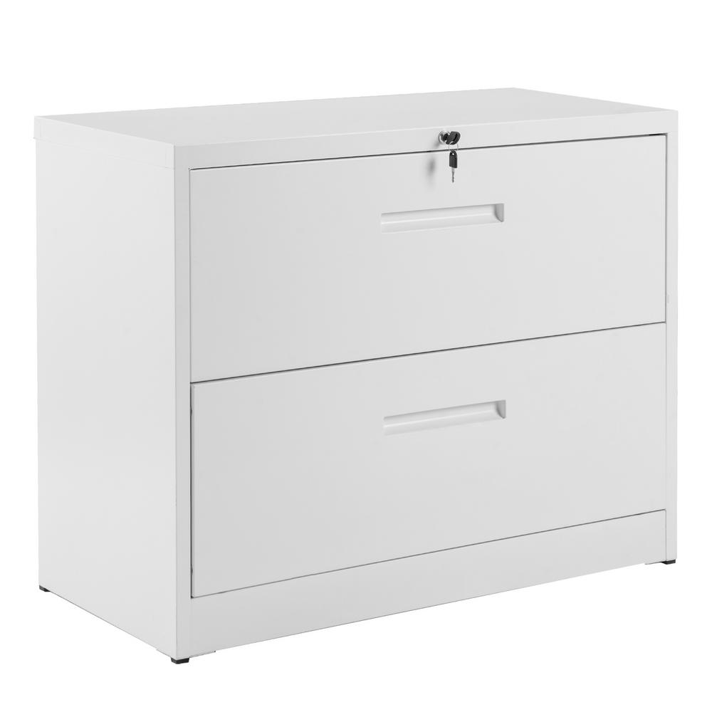 Merax White Lockable Heavy Duty Lateral Metal File Cabinet with 2-Drawer was $399.99 now $318.75 (20.0% off)