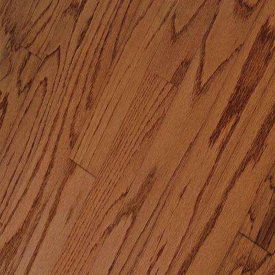 Hillden Gunstock Oak Engineered Hardwood Flooring - 5 in. x 7 in. Take Home Sample