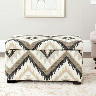 Madison Tribal Design Storage Bench